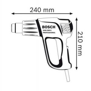 سشوار صنعتی بوش مدل GHG 500-2