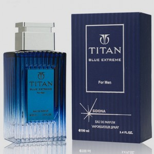 ادو پرفیوم مردانه سیدونا مدل TITAN BLUE EXTREME حجم 100 میلی لیتر