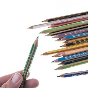 مداد رنگی 24 رنگ استدلر سری Noris Club مدل Jumbo