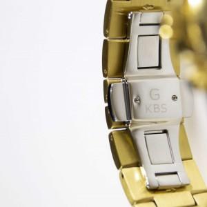 ساعت مچی عقربه ای زنانه جی کی بی اس مدل SN-2406-GG