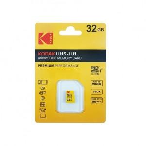 کارت حافظه microSDHC کداک مدل Premium Performance کلاس 10 استاندارد UHS-I U1 ظرفیت 32 گیگابایت