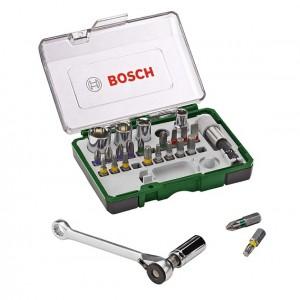 مجموعه 28 عددی سرپیچ گوشتی بوش مدل 2607017331