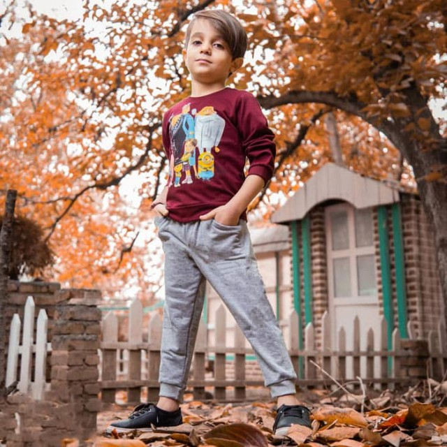 بلوز شلوار دورس بچگانه مدل شرور