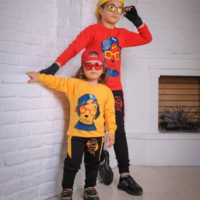 ست بلوز شلوار پسر و دختری مدل هاپو