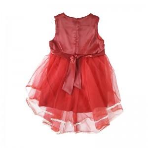 پیراهن دخترانه قرمز برای یلدا