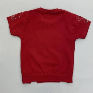 تیشرت شلوارک قرمز برای کودک