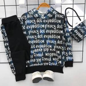 هودی شلوار مدل حروف لاتین