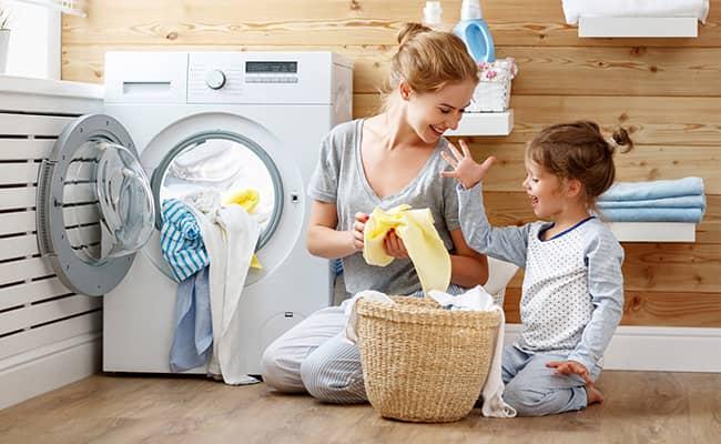 شستشوی لباس های نوزاد