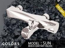 شیرآلات مدل خورشید کروم