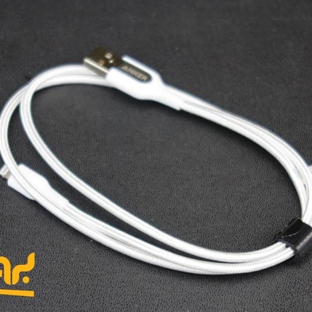 کابل تبدیل USB به لایتنینگ انکر مدل A8121 PowerLine Plus طول 90 سانتی متر