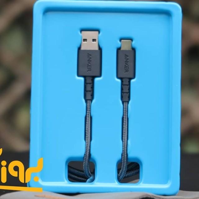 کابل تبدیل USB به USB-C انکر مدل A8022 طول 90 سانتی متر