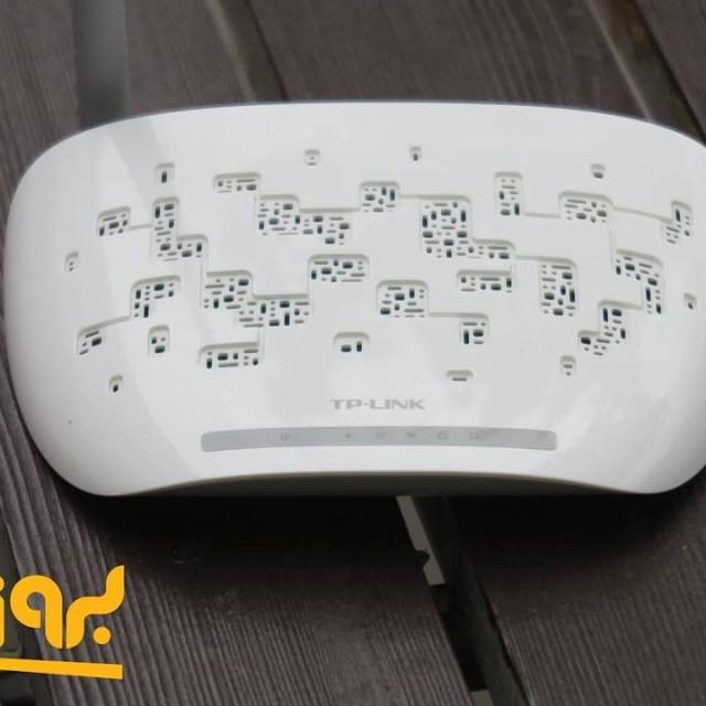 مودم روتر ADSL2 Plus بی سیم N150 تی پی-لینک مدل TD-W8151N