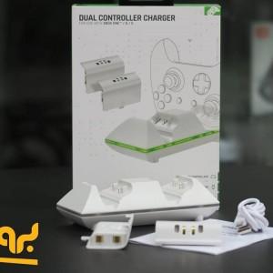 پایه شارژ دسته بازی Xbox One S اسپارک فاکس مدل Dual Controller Charger