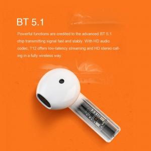 هدفون بلوتوثی QCY مدل T12