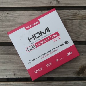 کابل HDMI تسکو مدل TC 70 به طول 1.5 متر