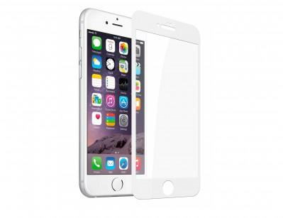گلس تمام صفحه iPhone 6S Plus سفید