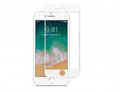گلس تمام صفحه iPhone 8 Plus سفید