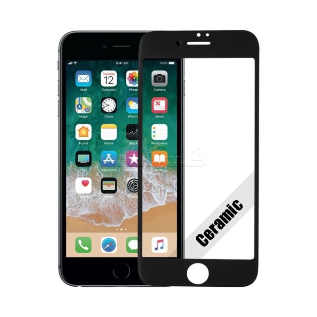 گلس سرامیکی آیفون iPhone 7 مشکی