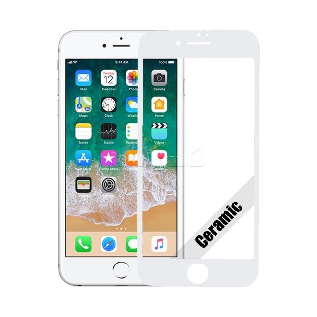گلس سرامیکی آیفون iPhone 8 Plus سفید