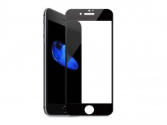 گلس تمام صفحه iPhone 6 Plus مشکی