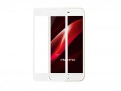 گلس تمام صفحه iPhone 7 Plus سفید