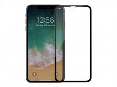 گلس تمام صفحه iPhone X مشکی
