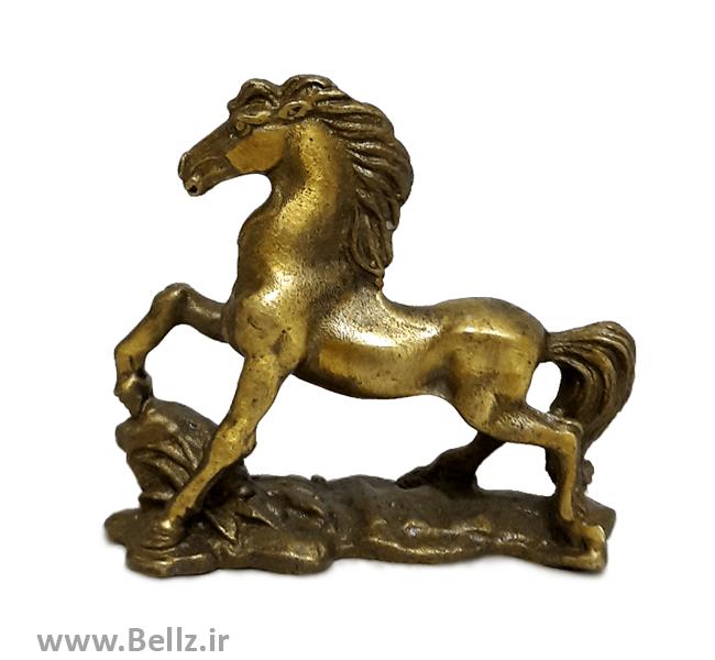 مجسمه اسب برنزی کوچک - کد ۵