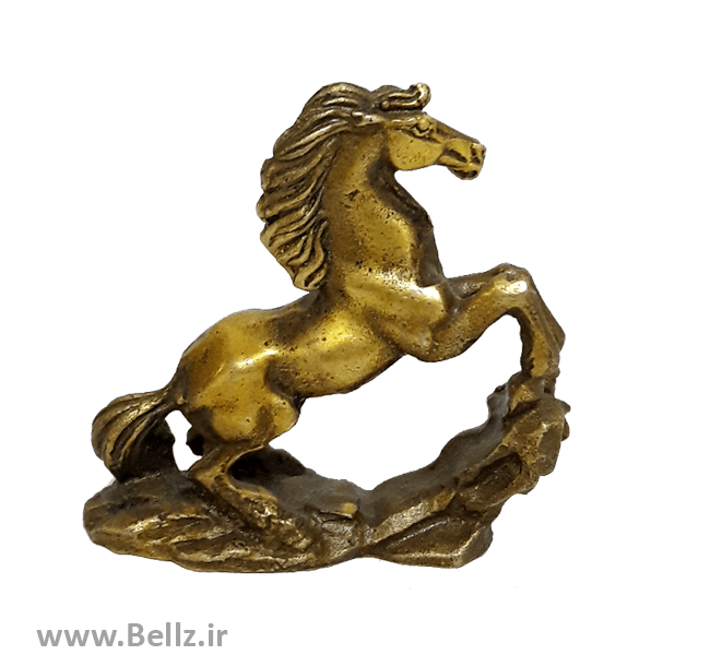 مجسمه اسب برنزی کوچک - کد ۶