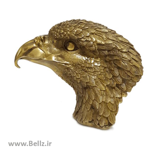 مجسمه برنزی سر عقاب (کد ۲)