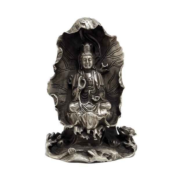 مجسمه بودا برنزی - (کد ۱۶)