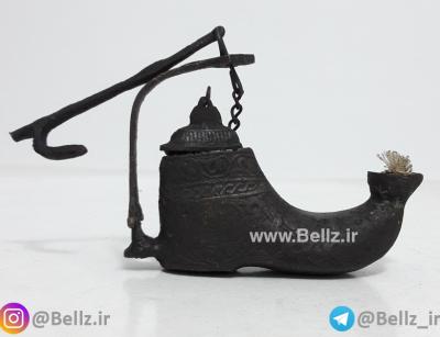 چراغ پیسوز برنجی طرح کفش - (کد ۱)
