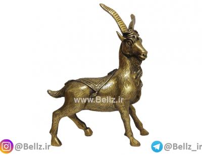 مجسمه قوچ (بز) برنزی نماد سال تولد