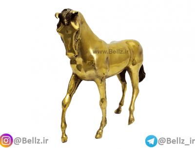 مجسمه اسب برنزی نماد سال تولد