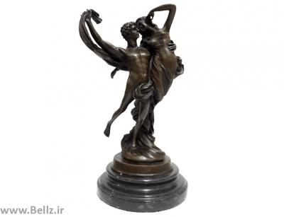 مجسمه آدم و حوا برنز