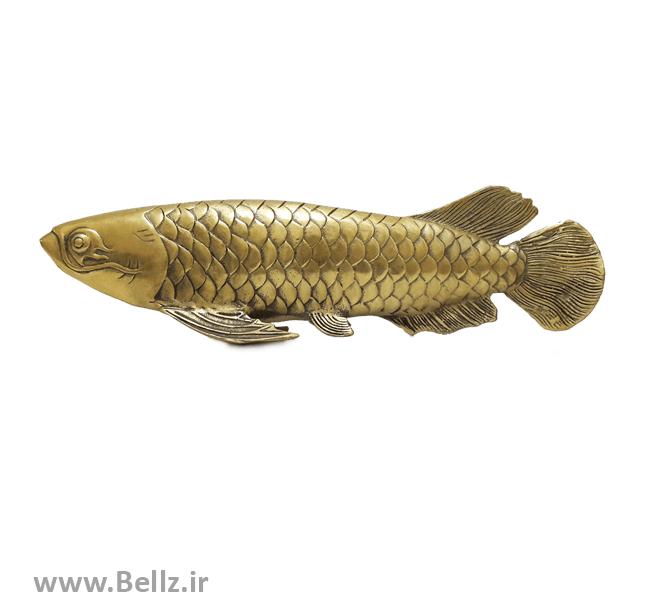 مجسمه ماهی برنز (طرح ۳)