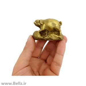 مجسمه خوک برنزی (کد ۲)