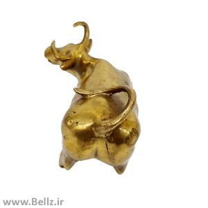 مجسمه گاو برنزی (طرح ۶)