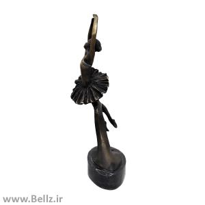 مجسمه زن بالرین برنزی (۴)