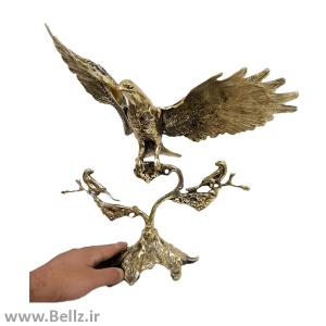 مجسمه عقاب بال باز برنجی - سایز بزرگ