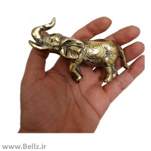 مجسمه فیل برنجی - کد ۴