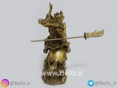 مجسمه سوار جنگجو برنزی (۱)