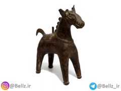 مجسمه اسب مفرغی