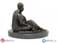 مجسمه عشق زن و مرد برنزی