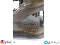 مجسمه زن و مرد بالرین برنزی (۳)