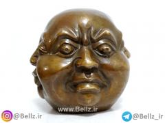 مجسمه بودا برنز(صورت)