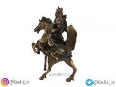مجسمه برنز سوار جنگجو (۲)