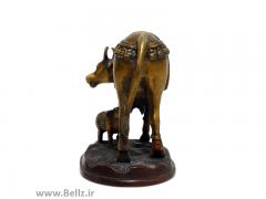 مجسمه گاو و گوساله - کد ۱