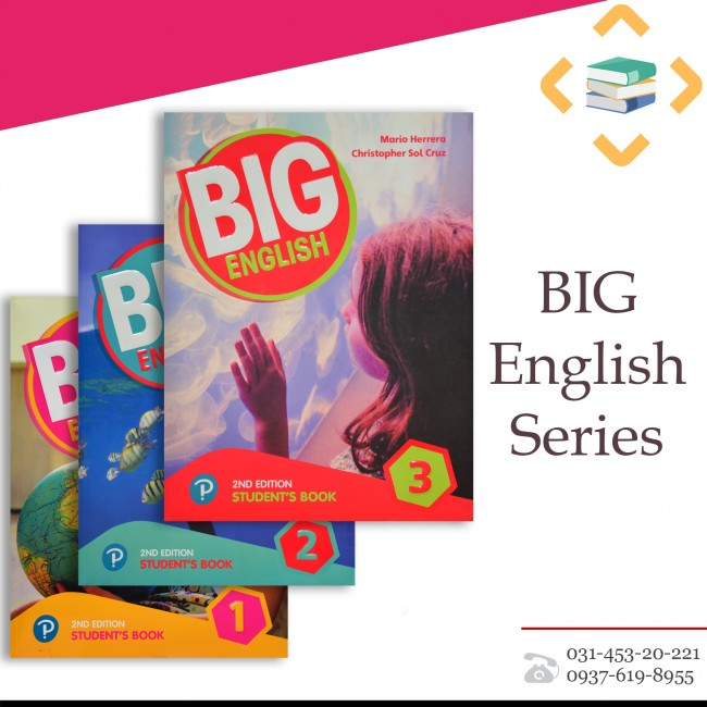 Big English 1,2,3 +DVD+Workbook