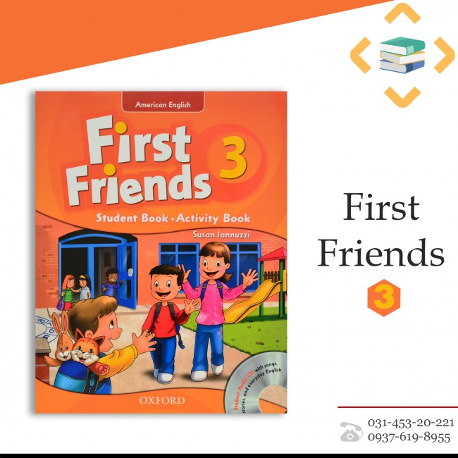 First Friends 3+Work book+CD