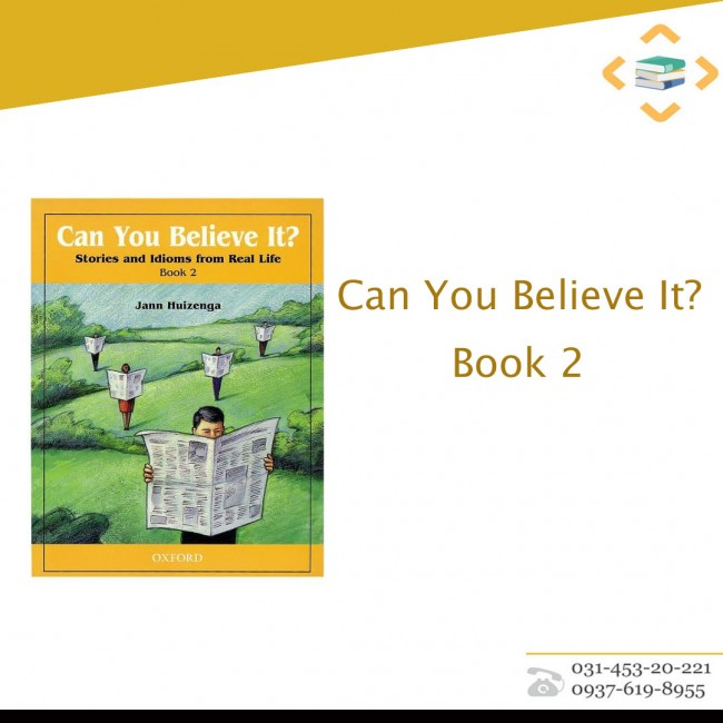 Can You Believe It? Book 2+CD
